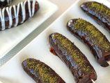 Çikolatalı Muz Çubukları Tarifi