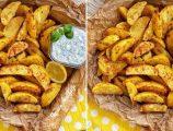 Fırında Çıtır Patates ve Ranch Sos Tarifi