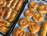 Tek Hamurdan Kıymalı ve Patatesli İç Harcıyla İki Çeşit Börek Tarifi